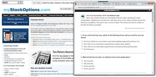How do I e-file the paper version of my 83(b) election with my online tax return?
