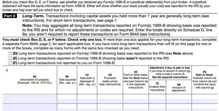Form8949